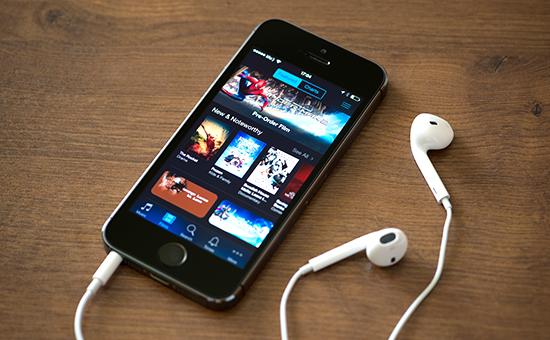 Сервисы Apple наэкране iPhone