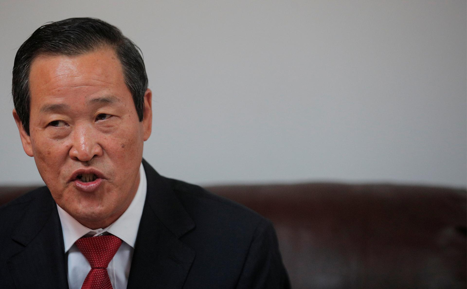 Представитель Северной Кореи в ООН Ким Сонг