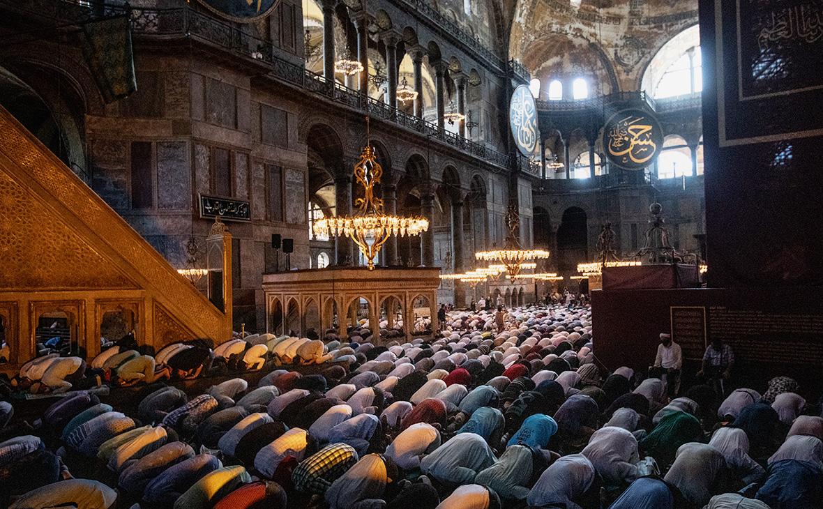 Большая мечеть Айя-София, Стамбул