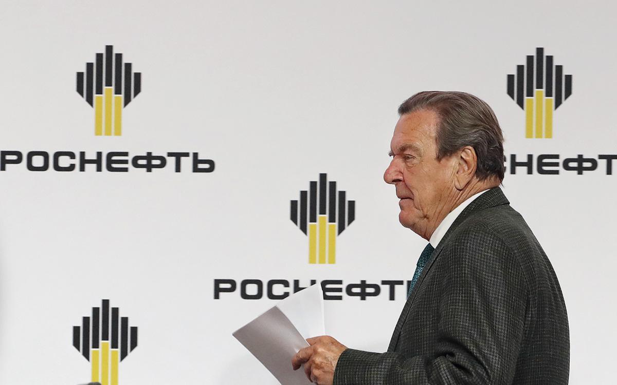 Шрёдера переизбрали председателем совета директоров Роснефти