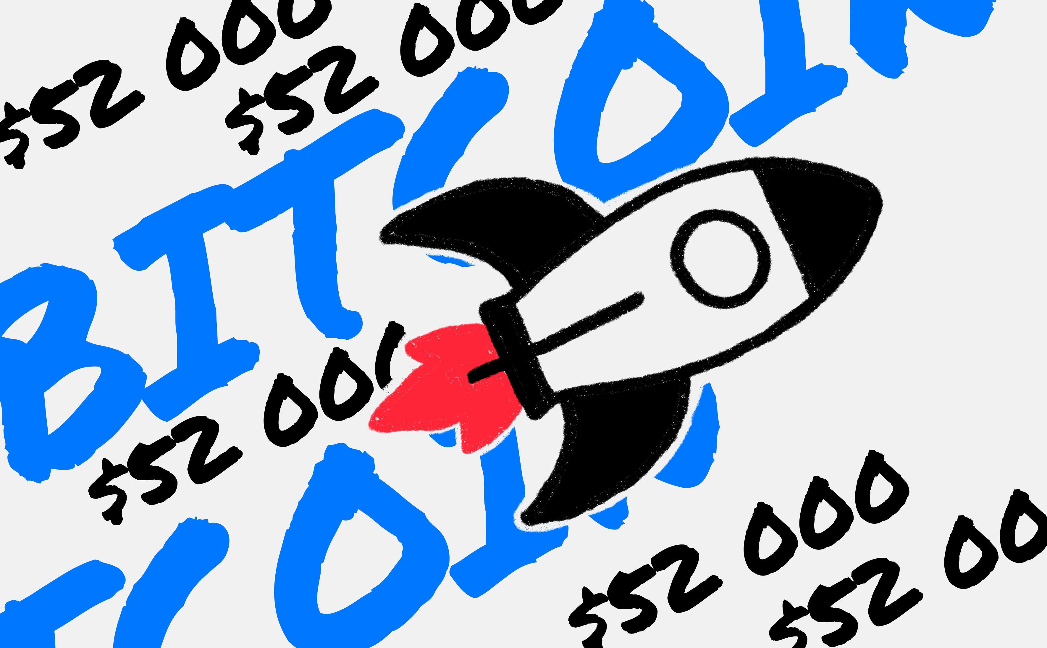 Курс биткоина приблизился к $52 тыс. впервые с середины мая :: РБК.Крипто