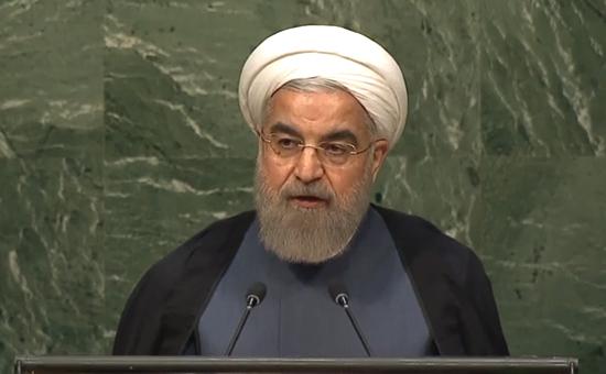 Президент Ирана ХасанРоухани