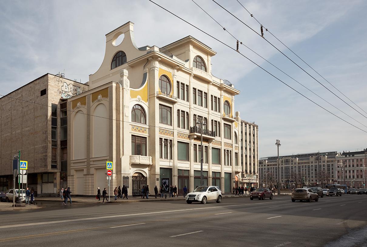 Реставрация дома книгоиздателя Сытина. Тверская, 18б