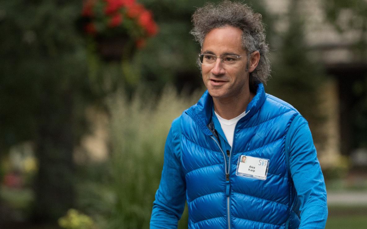 Фото:  Генеральный директор и соучредитель Palantir Алекс Карп ( Фото: Drew Angerer / Getty Images)