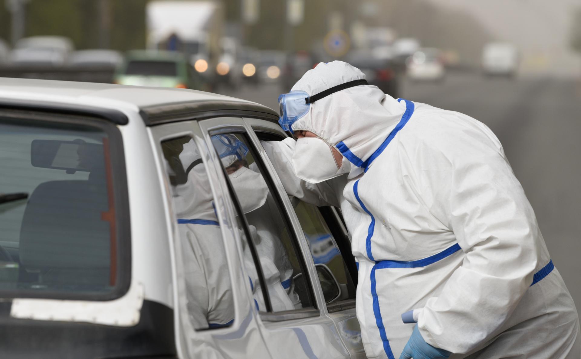 На Украине зафиксировали месячный рекорд по заболеваемости коронавирусом