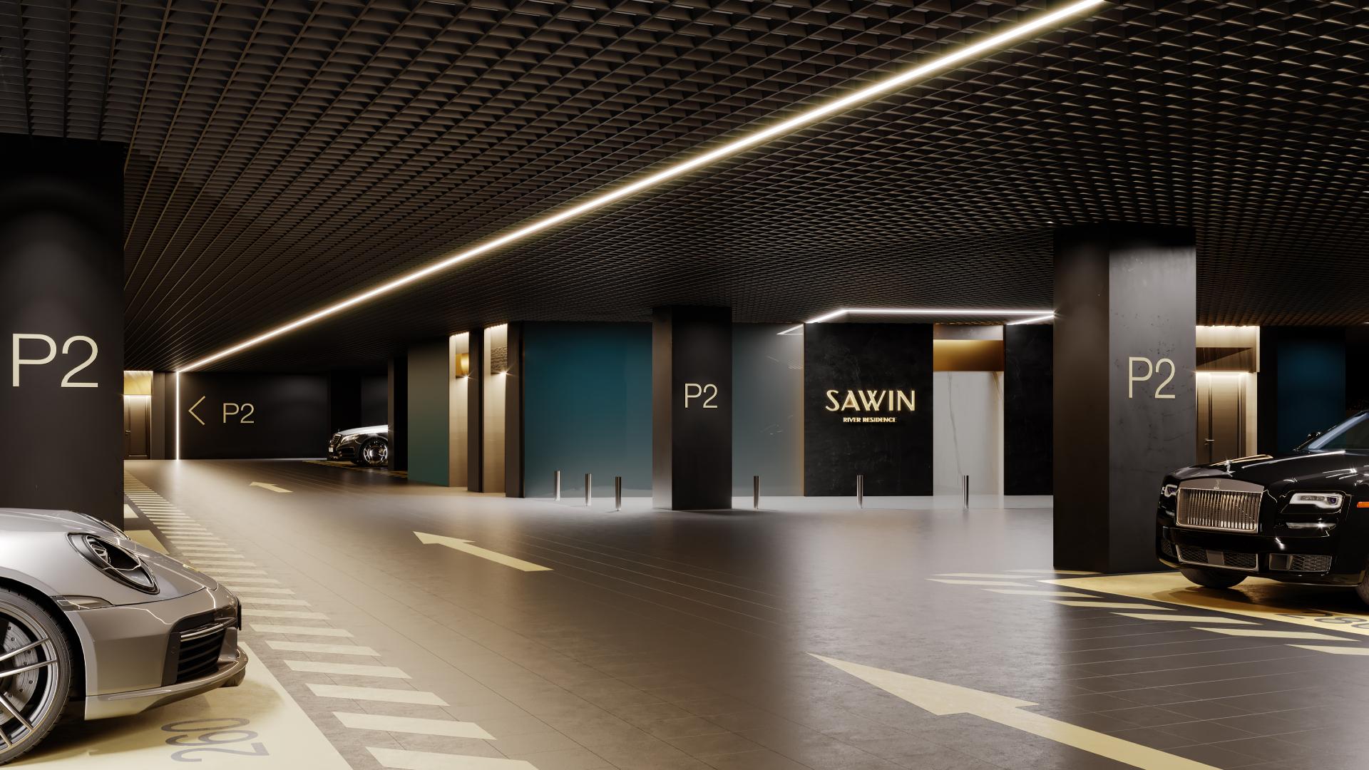 Визуализация Savvin River Residence