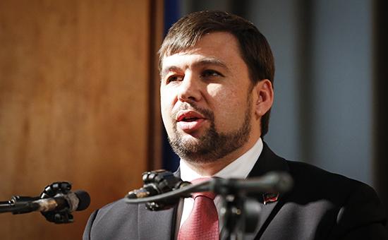 Председатель президиума Верховного совета ДНР Денис Пушилин