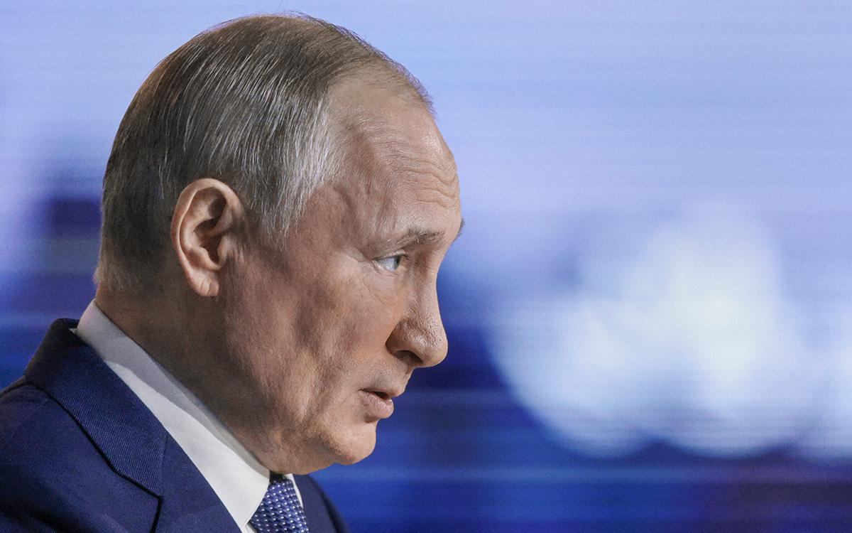 Путин сообщил об отсутствии у него мобильного телефона :: Политика :: РБК