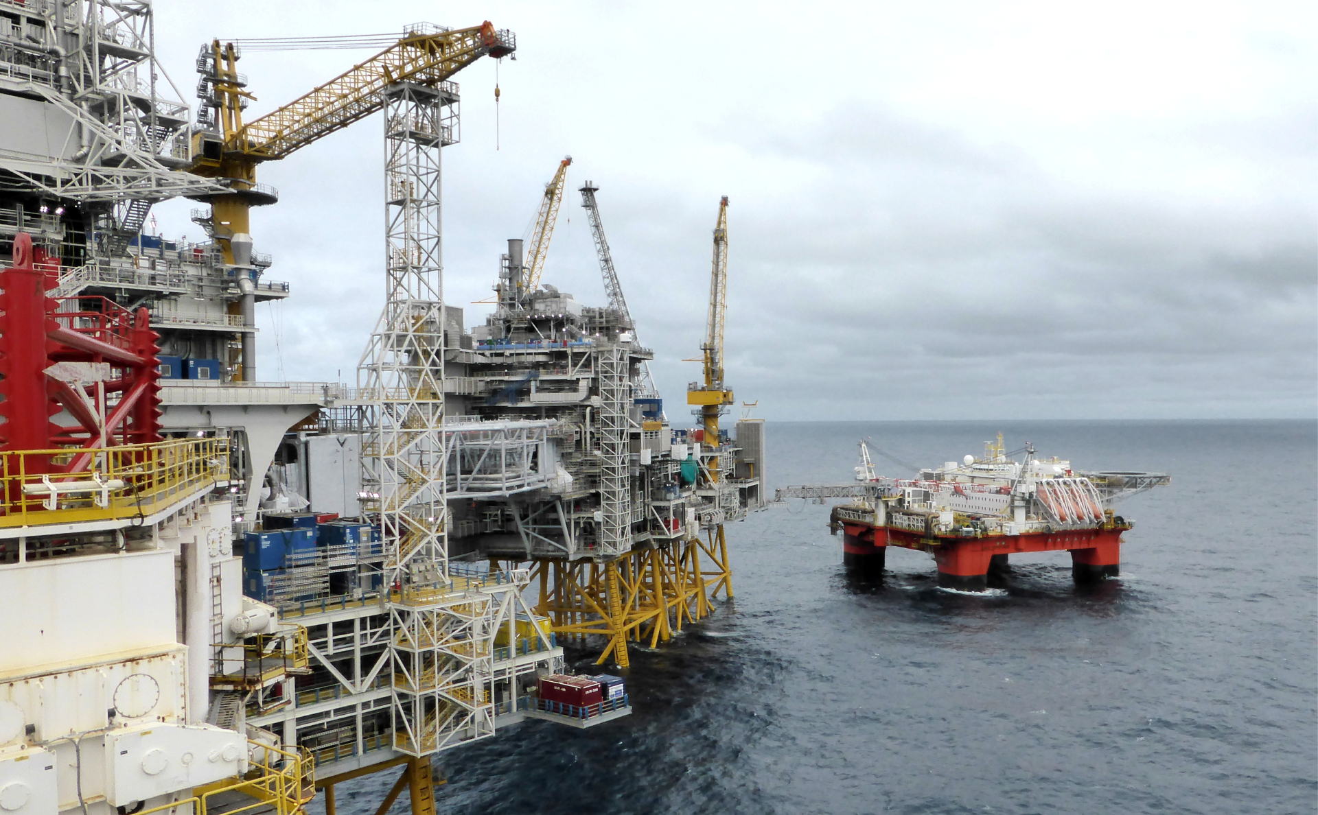 Добыча нефти у берегов Норвегии