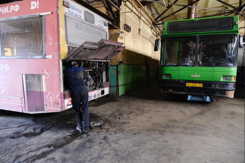 Износ общественного транспорта в Новосибирске - от 77 до 93%