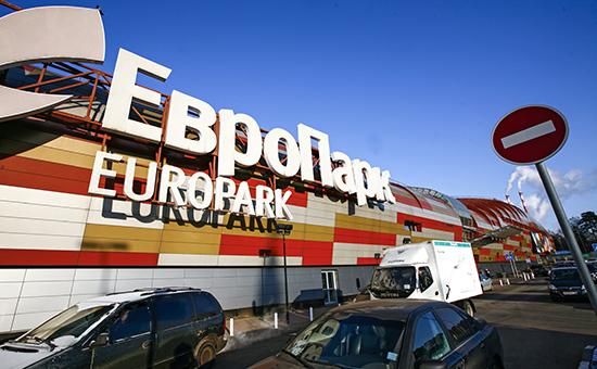 Здание многофункционального торгового комплекса «Европарк» на Рублевском шоссе