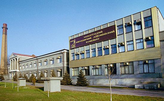 Запорожский производственный алюминиевый комбинат, апрель 2005 года