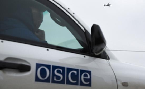 Автомобиль миссии ОБСЕ наУкраине