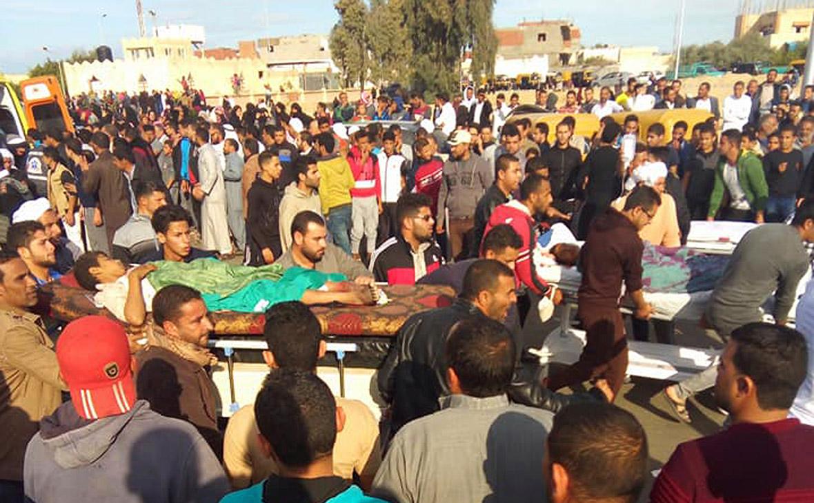 Жертвы теракта в в Бир аль-Абеде