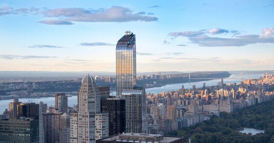 Жилой комплекс One57 в Нью-Йорке