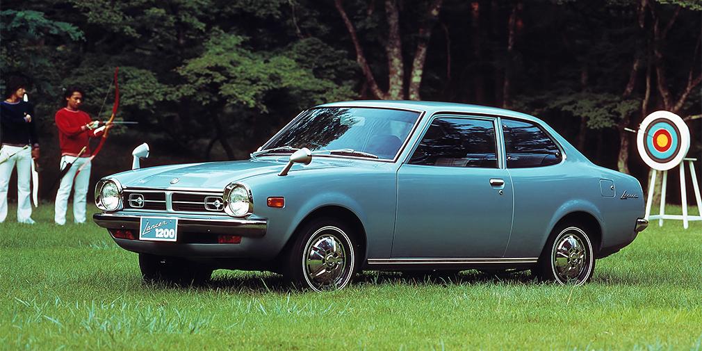 """<span style=""""font-size:15px;"""">Mitsubishi Lancer Coupe 1973</span>"""