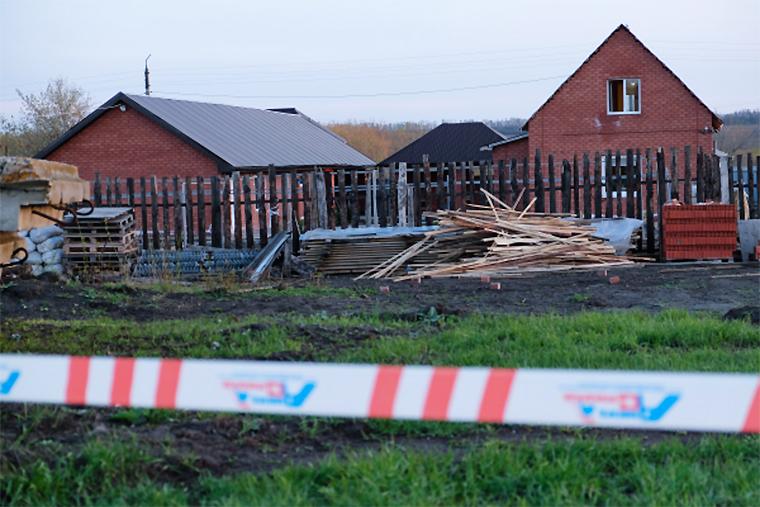 Дом в поселке Ивашевка Сызранского района Самарской области, где произошло убийство Андрея Гошта и членов его семьи