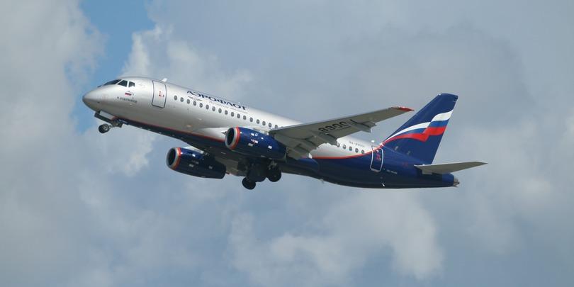 Sukhoi Superjet 100 компании «Аэрофлот»