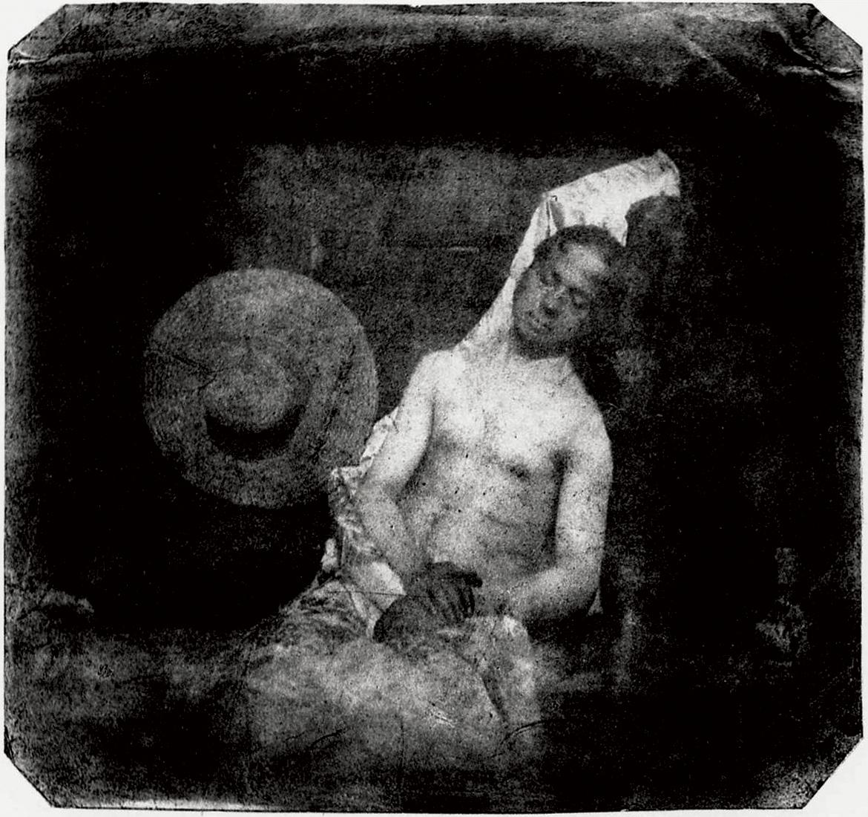 Автопортрет в образе утопленника, 1840 год
