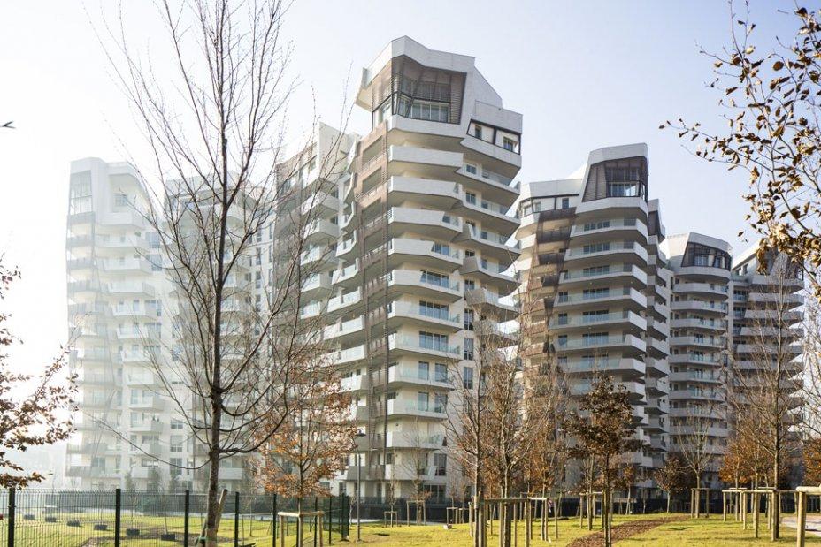 Район  CityLife в Милане