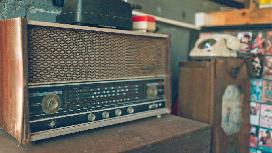 Старая радиола — это мощный акцент в вашем интерьере