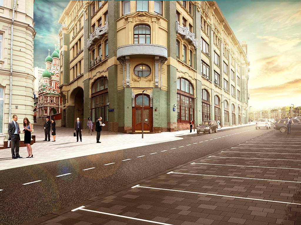 Проект благоустройства Старой площади