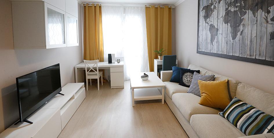 Образец интерьера квартиры для переселения по программе реновации жилья в Москве