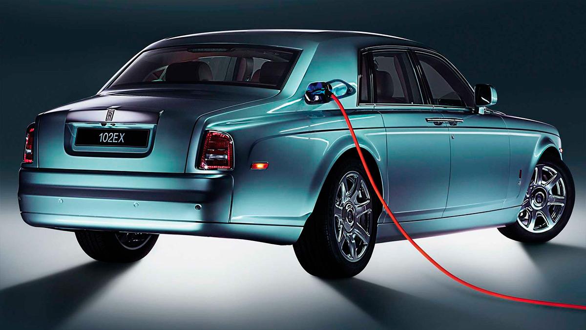 Rolls-Royce PhantomExperimental Electric 102EX