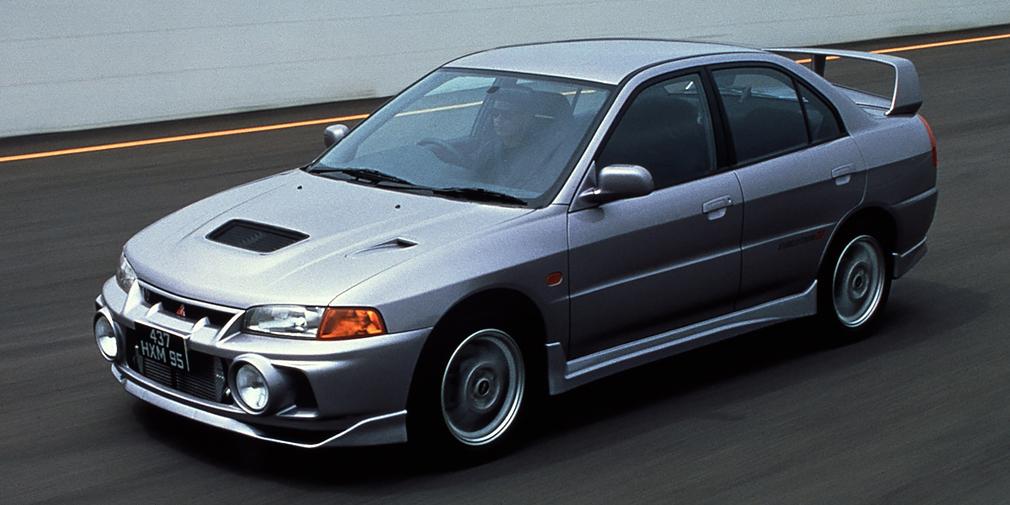 Mitsubishi Lancer Evolution IV 1996
