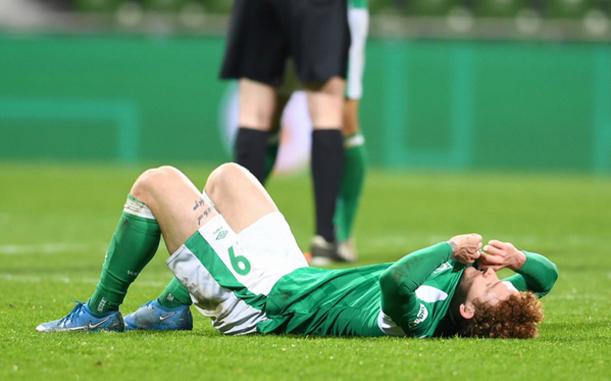 """Фото: Футболист """"Вердера"""" Деви Зельке (Фото: AP)"""