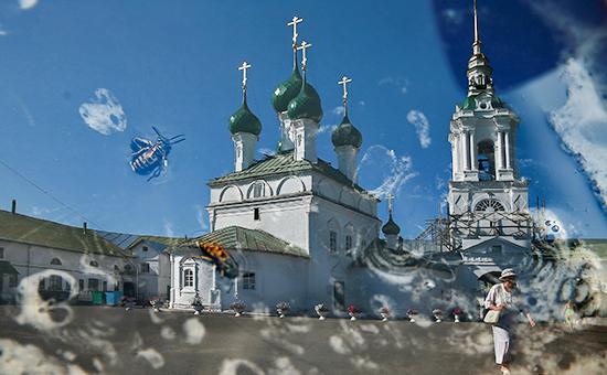 Храм во Имя Всемилостивого Спаса в Гостинном дворе, Кострома