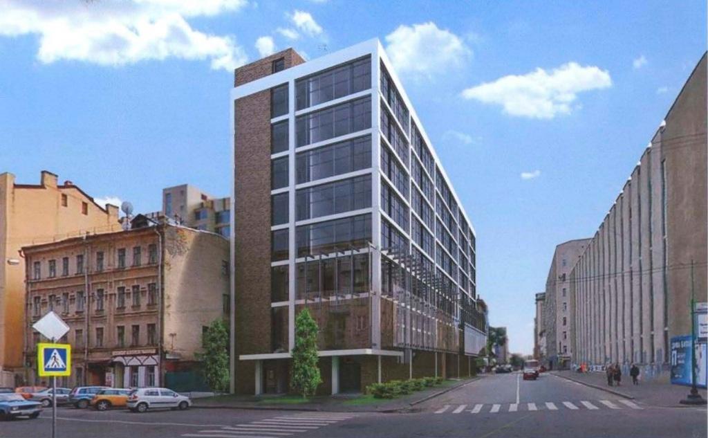 Проект административного здания Азербайджанского культурного центра в ЦАО Москвы