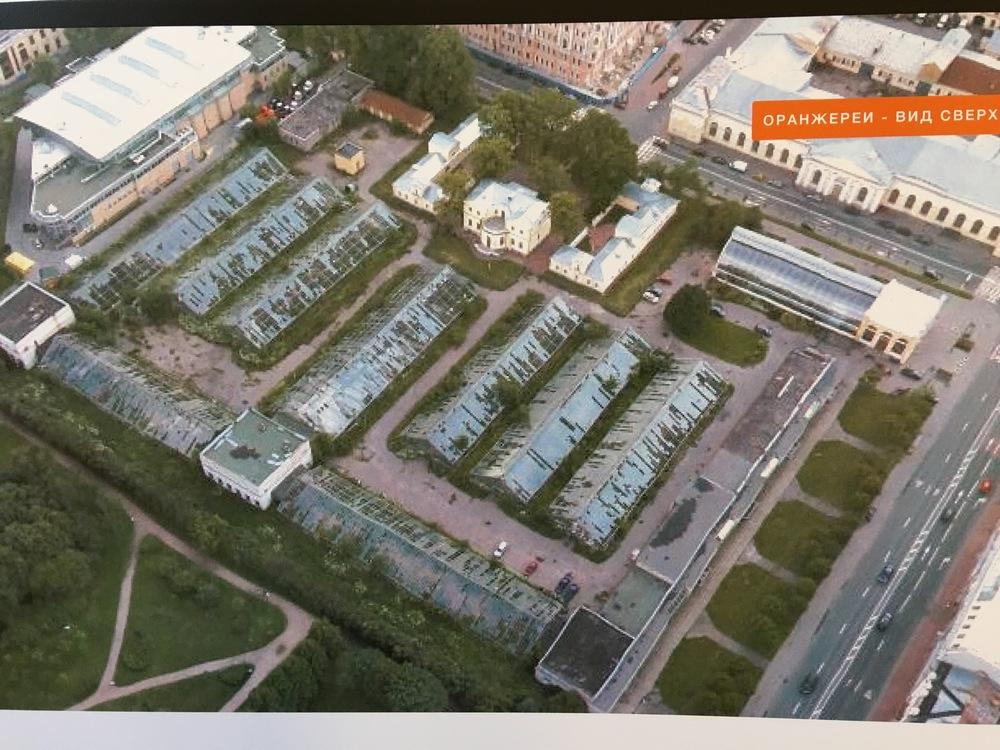 Заброшенная оранжереявозле Таврического сада