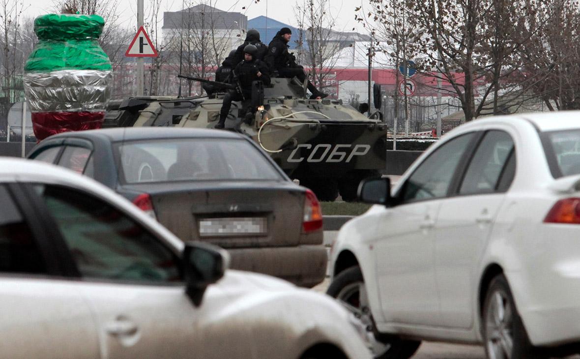 Рейд спецсил полиции. Чечня. Архив