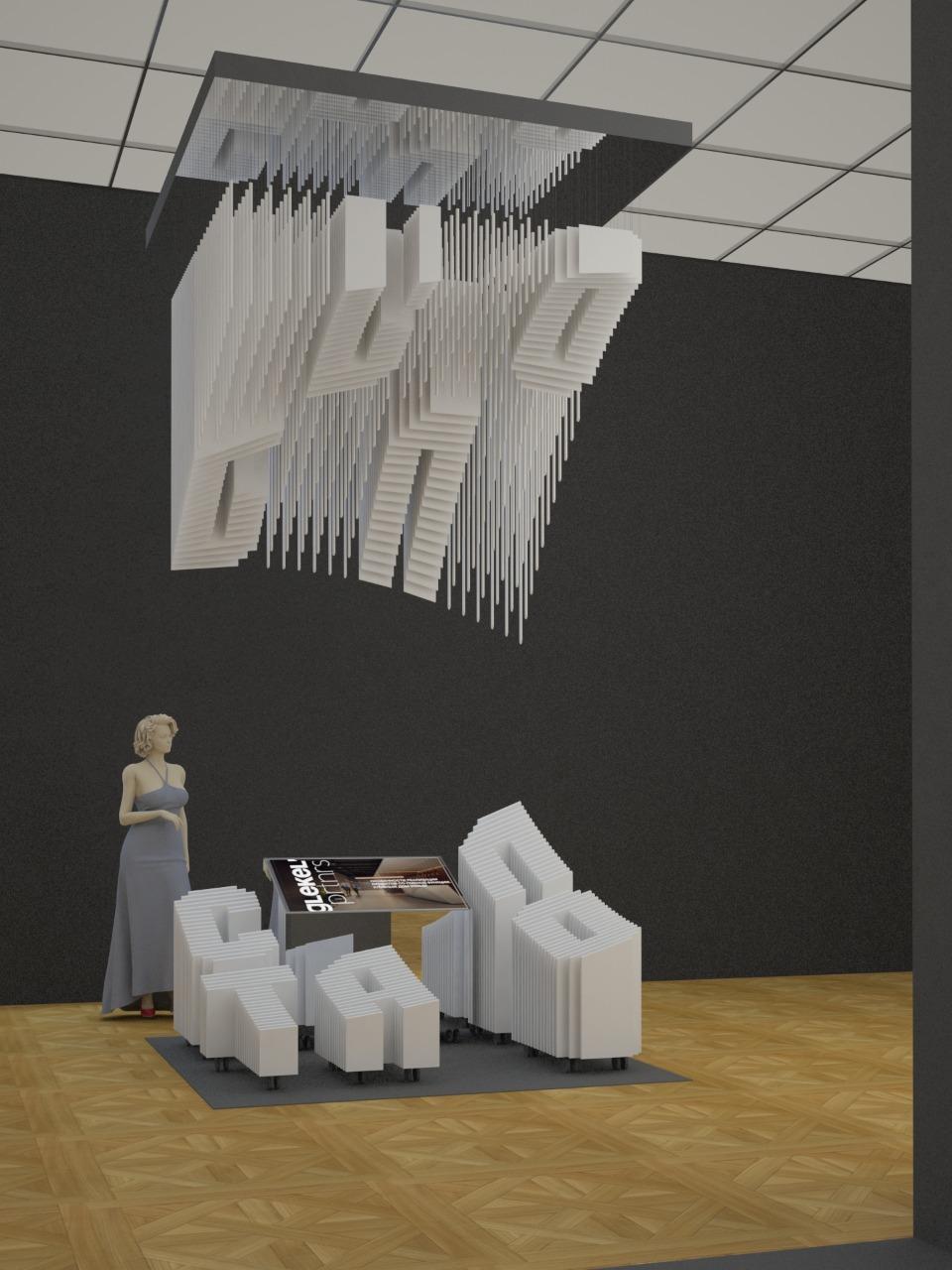 Проект экспозиции «REдевеломпент. Архитектор в построенном городе». GlekelPartners