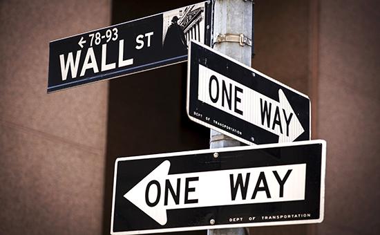 Нью-Йорк. Уолл-Стрит