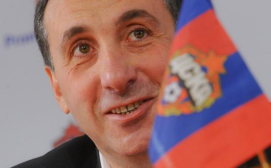 Президент футбольного клуба ЦСКА ЕвгенийГинер