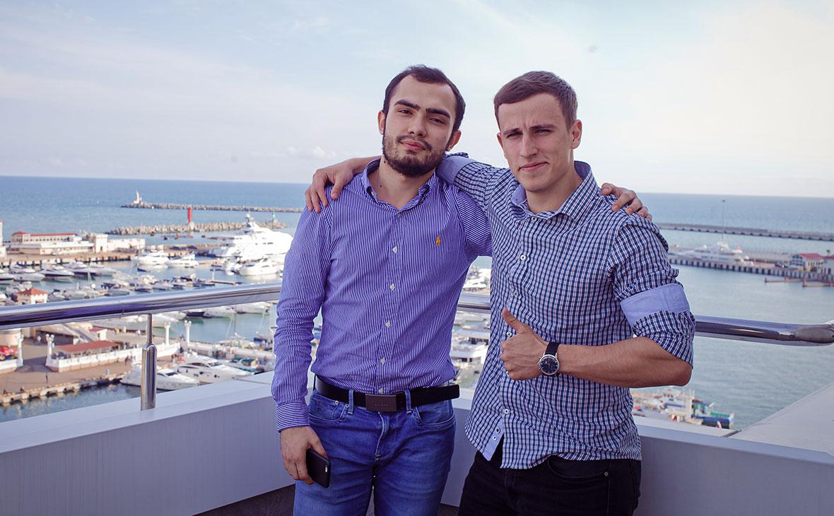 Александр Машрабов и Григорий Ткаченко