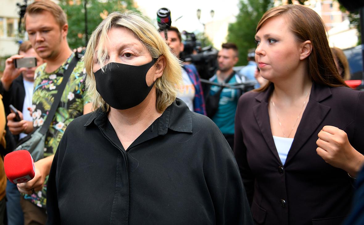 Татьяна Беркович (слева)