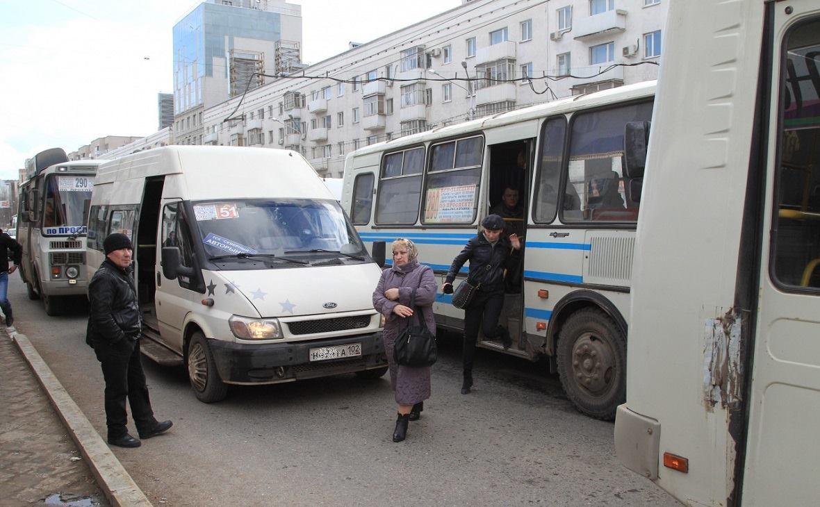 В Уфе «перекраивают» рынок общественных перевозок