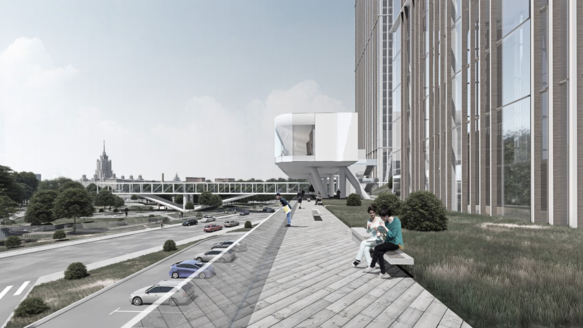 Международный деловой центр «Москва-Сити», строительство которого началось в1996 году, проектировался какофисный квартал, ноиз-забольшой площади пустующих офисов ипадения арендных ставок девелоперы все чаще пересматривают концепцию зданий впользуотелей иапартаментов