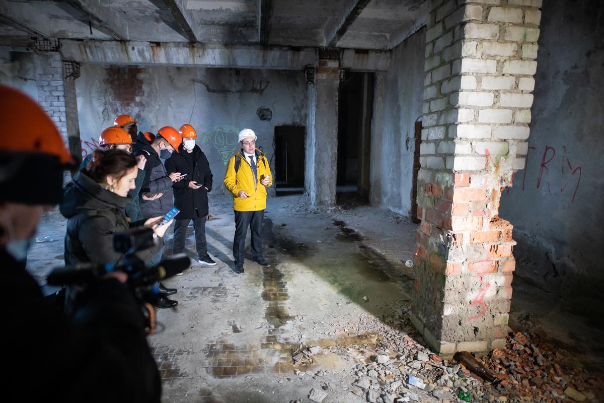 Эксперты НИЦ «Строительство» обнаружили трещины в несущей конструкции Дома Советов