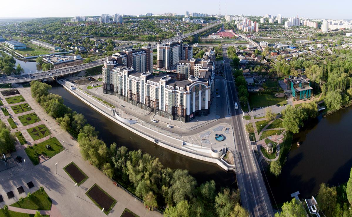 Вид на Белгород