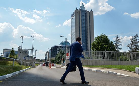 Здание центрального офиса «Газпрома» вМоскве
