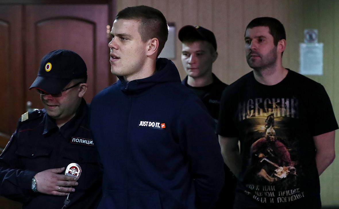 Александр Кокорин и Александр Протасовицкий (слева направо)