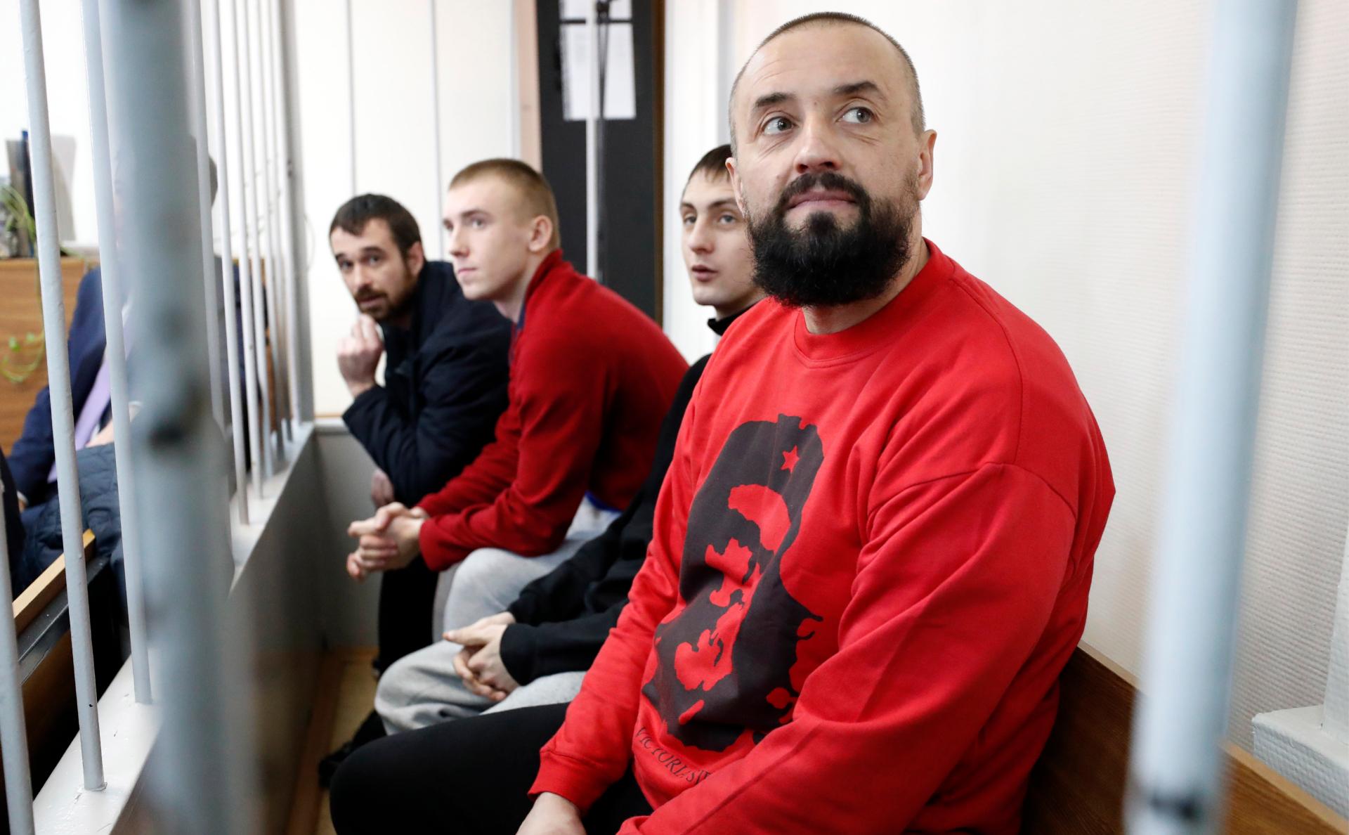 Украинские моряки в лефортовском СИЗО