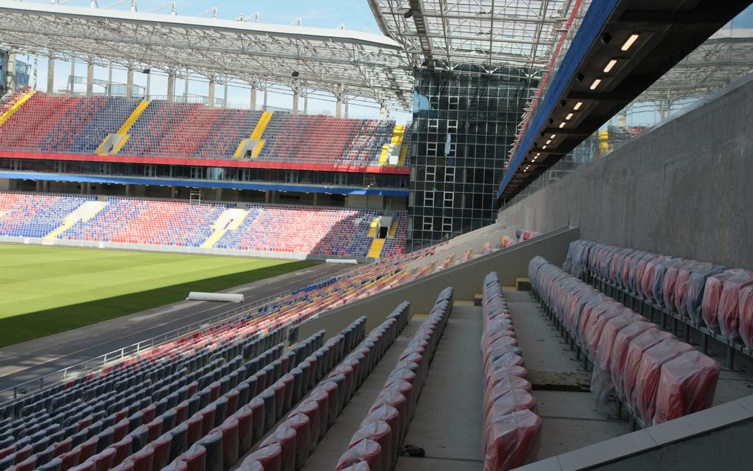 На территории футбольного стадиона заработает детско-юношеская спортивная школа, фирменный магазин атрибутики, медицинский центр и даже музей