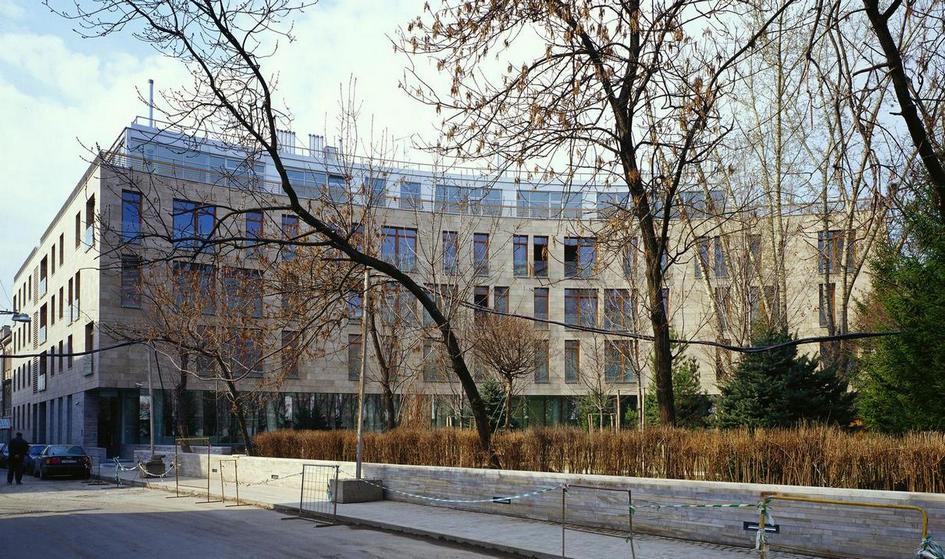 Жилой дом в Молочном переулке. Москва, 2000–2003