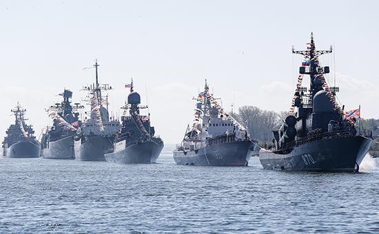 Корабли Балтийского флота, 7 мая 2015 года