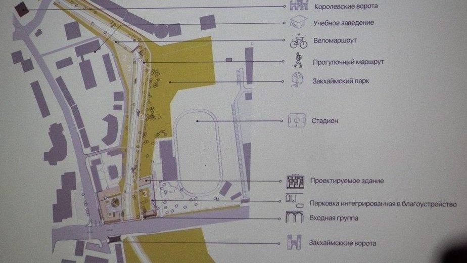 Фото: Проект места строительства. Иллюстрация «Клопс»